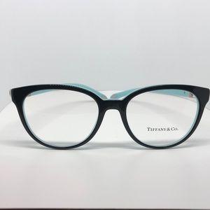 ♥️ Tiffany Eyeglasses Clear Frames Silver Hearts